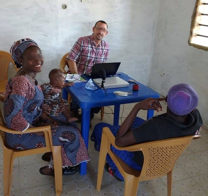 StoryRunners - Nadine Akasalam in Africa
